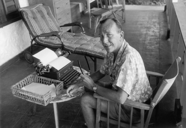 , 'The Master at Work: Noel Coward, Jamaica,' 1953, Staley-Wise Gallery