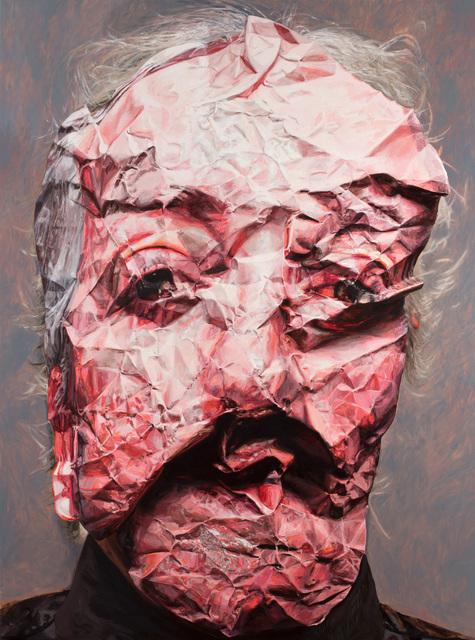 , 'Crushing, self portrait,' 2019, Bett Gallery