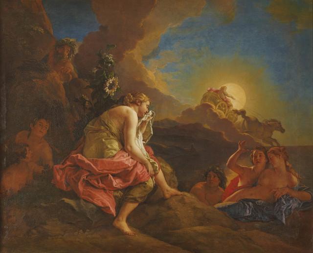 , 'Clytie changée en tournesol (Clytia Changed into a Sunflower),' 1688, Château de Versailles