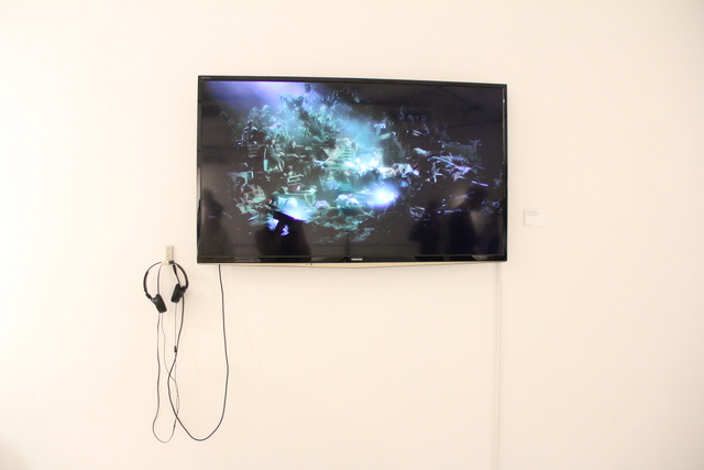 , 'Black To Comm –Earth (Water),' 2012, Hong Kong Arts Centre
