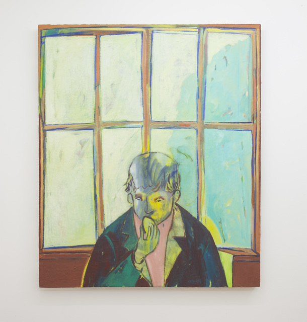 , 'The Painter Bites into a Lemon to Counterbalance the Brilliance of the South Facing Light,' 2015, LLE