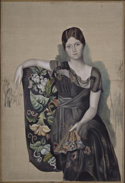 Pablo Picasso, 'Portrait d'Olga dans un fauteuil (Portrait of Olga in an Armchair)', 1918, Musée Picasso Paris