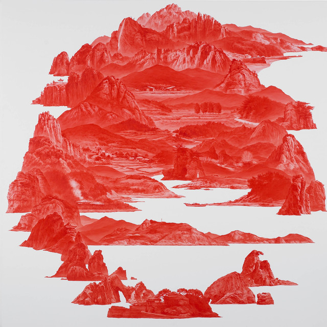 , 'Between Red 58,' 2008, ONE AND J. Gallery