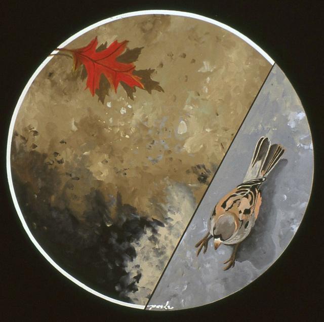 , 'Paris Bird, Fall,' , Wallace Galleries