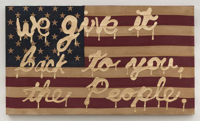 , 'We Give It Back To You (The people) ,' 2017, Joshua Liner Gallery