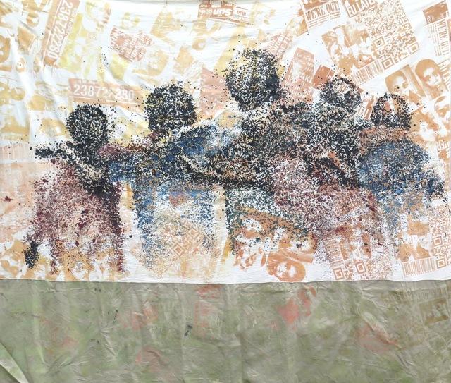 , 'Les dangôrös dit l'UA, série Les pétroliers,' 2017, Galerie Cécile Fakhoury - Abidjan