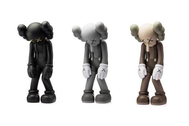 KAWS, 'Small Lie (Set of 3)', 2017, Sculpture, Vinyl, Paint, Der-Horng Art Gallery