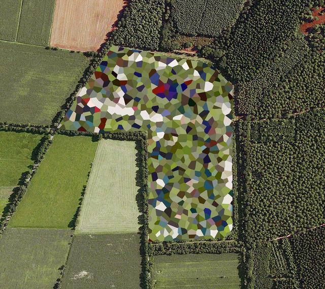 Mishka Henner, 'Dutch Landscapes, Staphorst Ammunition Depot, Overijssel', 2011, Galleria Bianconi