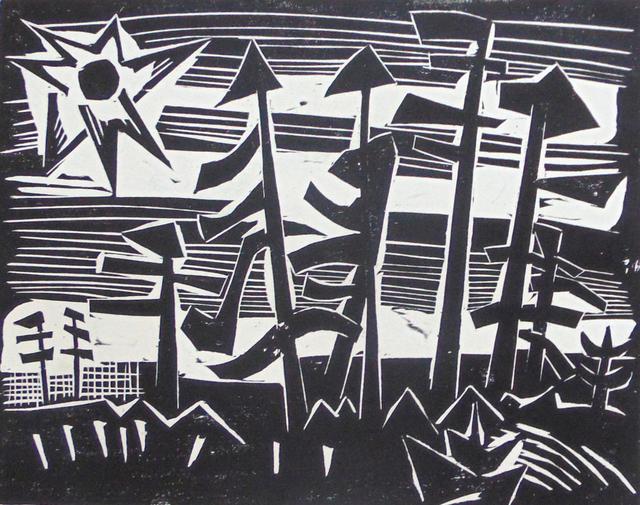 , 'Russian Forest | Russisches Wald,' 1918, Gilden's Art Gallery