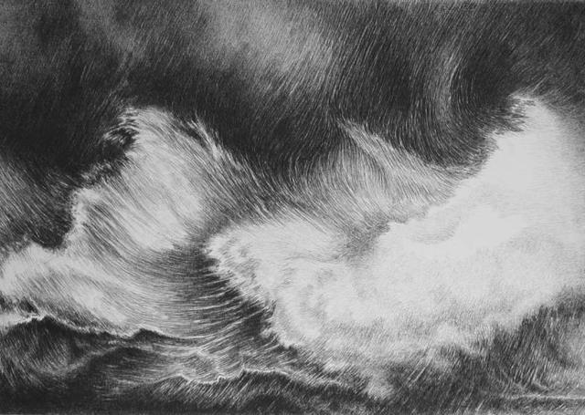 , 'Waves,' 1986, Russell Collection