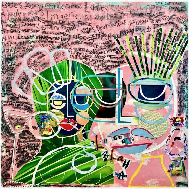 , 'Talk the Talk,' 2018, Miller Gallery Charleston