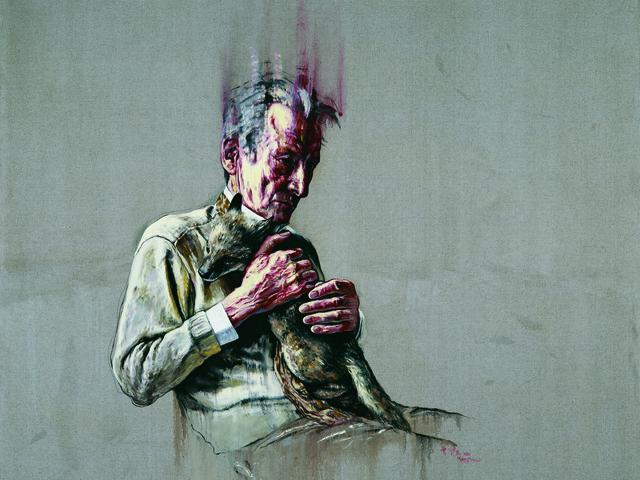 Zeng Fanzhi, 'Lucian Freud,' 2011, Gagosian