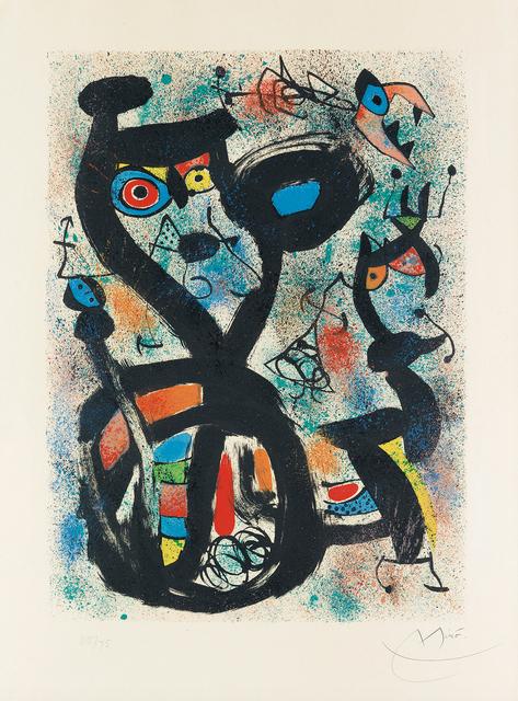 Joan Miró, 'The Cat', 1969, DTR Modern Galleries