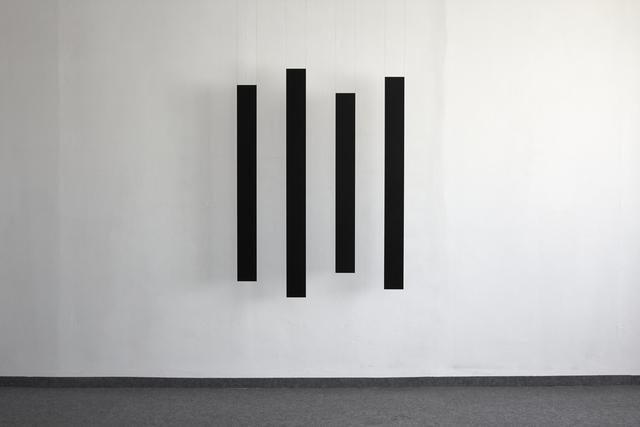 , 'cluster, vierteilig,' 2018, Edition & Galerie Hoffmann
