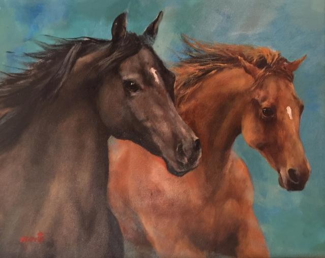 , 'Grace of Horses,' , Cosmopolitan Fine Arts