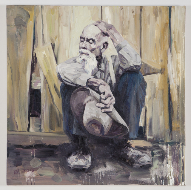 , 'Working Man #2,' 2015-16, Nancy Hoffman Gallery