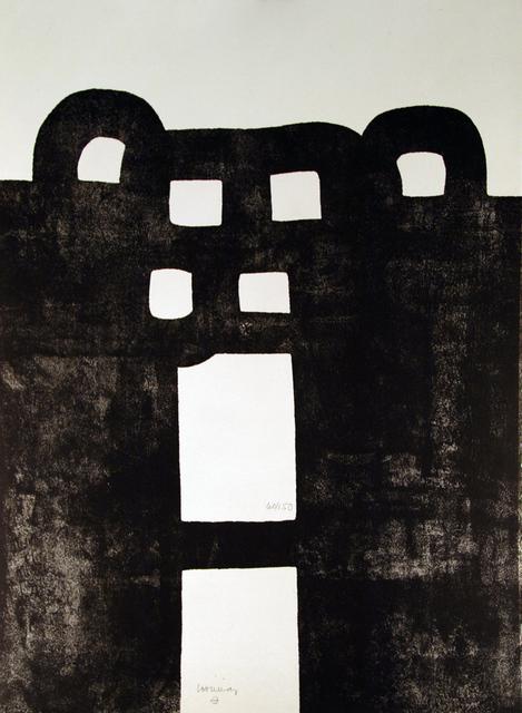 Eduardo Chillida, 'Gurutze Gorria', 1984, Kunzt Gallery