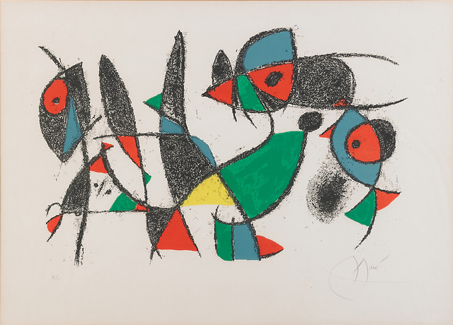 Joan Miró, 'Plate 10, from Lithographs ll', 1975, Rago/Wright