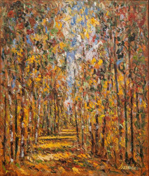 , 'Autumn, Birches,' 2018, Galerie d'Orsay