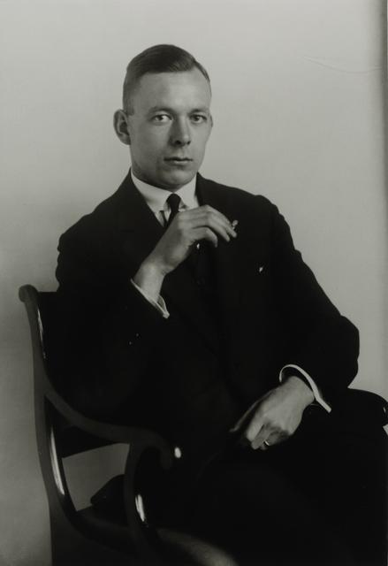 August Sander, 'Young Physician, 1926', Galerie Julian Sander