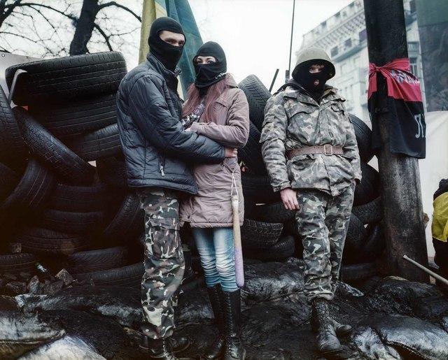 , 'Kiev (2),' 2014, Dvir Gallery
