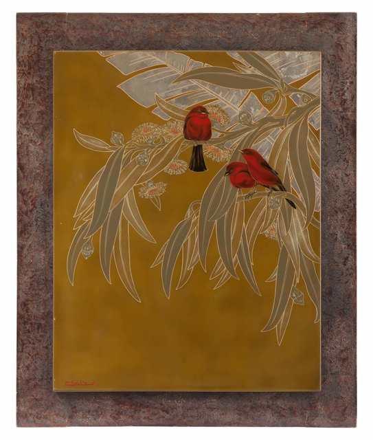 , 'Tangaras in Eucalyptus,' , Galerie Dumonteil