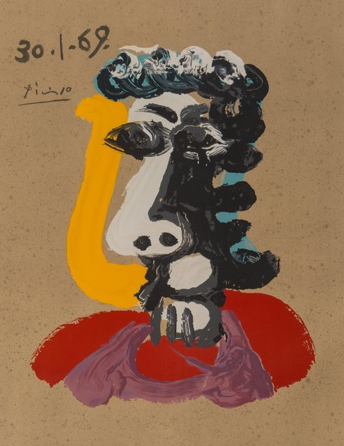 after Pablo Picasso, 'Imaginary Portraits (from the American Edition)', 1972, Heritage Auctions