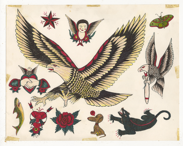 , 'Untitled( Big Eagle),' ca. 1950, Ricco/Maresca Gallery