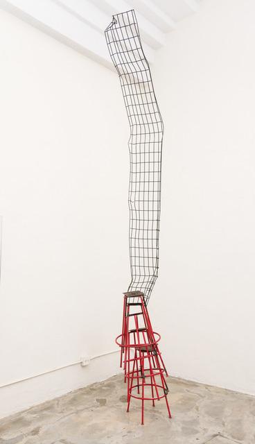 Ida Ekblad, 'And after that she ZZzleeepy', 2015, Sculpture, Stools, welded metal, Karma International