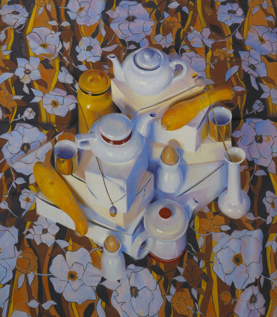 , 'Summer Squash and Flowers,' 1997, Vose Galleries