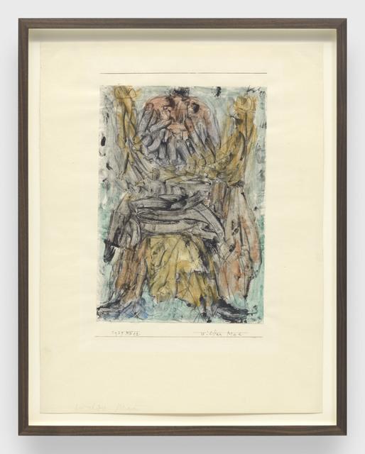 , 'wilder Mann (Wild man),' 1939, David Zwirner