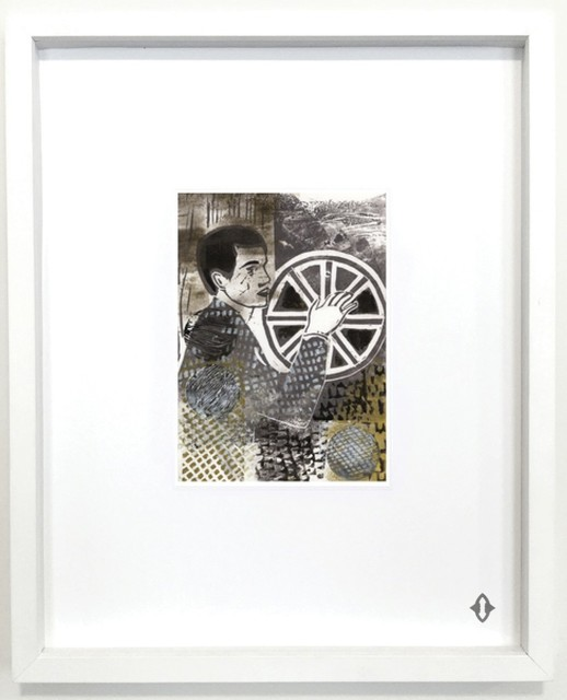 """, 'WHEEL OF FORTUNE, 2015 From the series """"Contemporary Magic: A Tarot Deck Art Project"""" Limited Edition 5th Anniversary Print Collection,' , ART CAPSUL"""