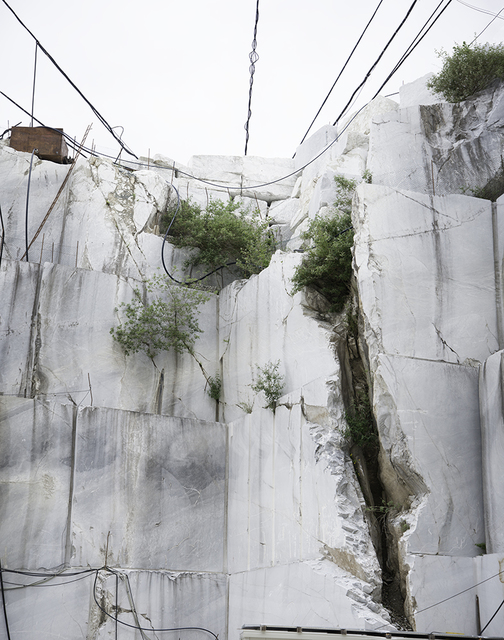 , 'Fissure with Wires / Cave Focolaccia,' 2017, C. Grimaldis Gallery