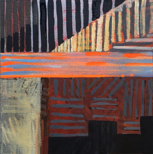 , 'Single Slit Particle Projection,' 2017, John Davis Gallery