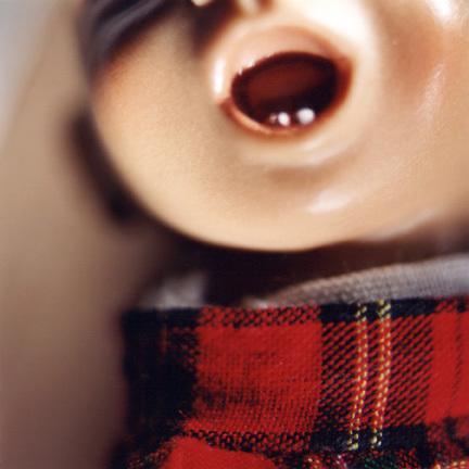Diana Thorneycroft, 'Doll Mouth (red plaid)', 2005, Art Mûr
