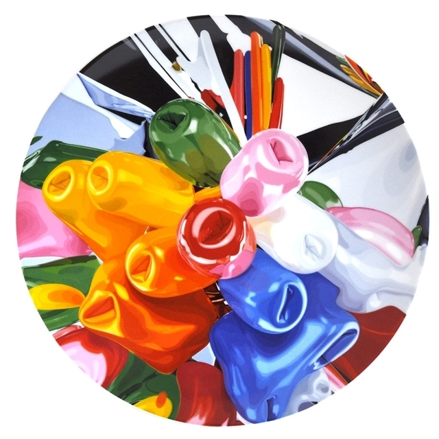 Jeff Koons, 'Tulips Coupe Service Plate', 2015, Artware Editions