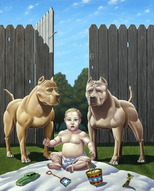 , 'Who Let the Dogs Out?,' 2015, Transmission Gallery