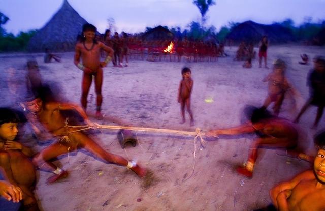 , 'Enawene Nawe People,' 2005, Gabarron Foundation