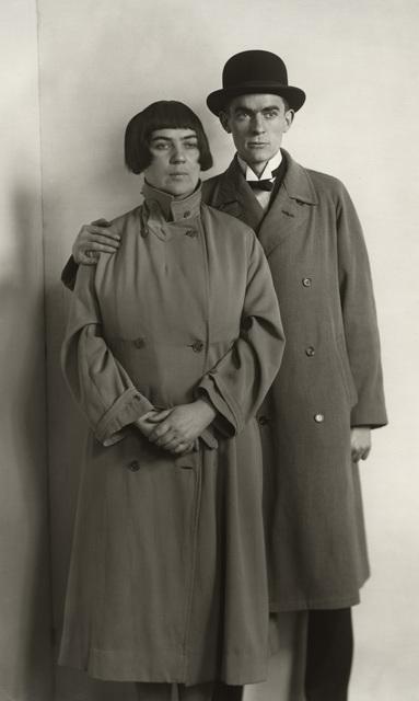 August Sander, 'The Painter Anton Räderscheidt and his Wife Marta Hegemann', ca. 1925-printed 1990, Galerie Julian Sander