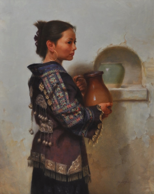 , 'Miao Woman,' , Trailside Galleries