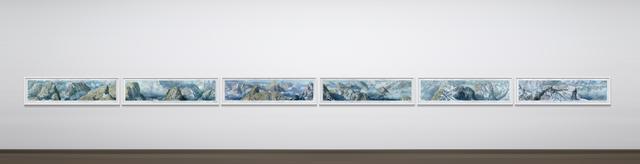 , '1:25'000 Swiss Panorama (Polyptichton),' 2013-2015, MARCdePUECHREDON