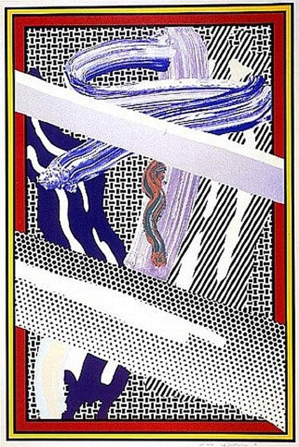 Roy Lichtenstein, 'Reflections on Expressionist Painting', 1990, David Benrimon Fine Art