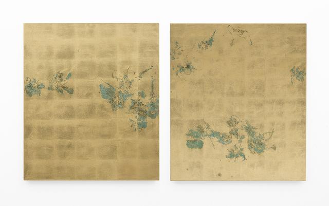 , 'Hair orchid sweat print, hemp,' 2018, SMAC