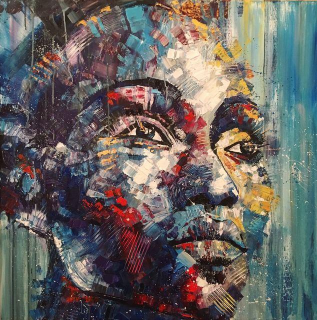 , 'Woman's face,' 2016, BOCCARA ART