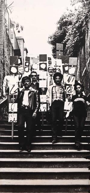 Plinio Mesciulam, 'Ostensione di Gruppo', 1976, Cambi