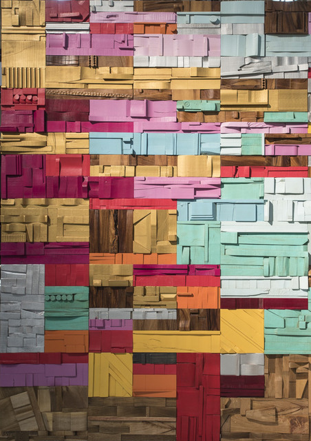 , 'Collage Mural ,' , PETER GLASSFORD