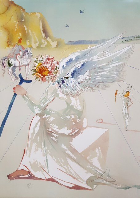 Salvador Dalí, 'Helen of Troy (Angel with Wand)', 1977, Graves International Art