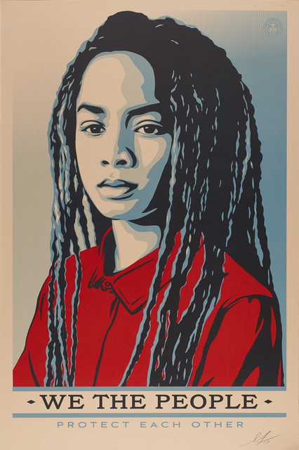 Shepard Fairey, 'We The People: Protect Each Other', 2017, Rago/Wright