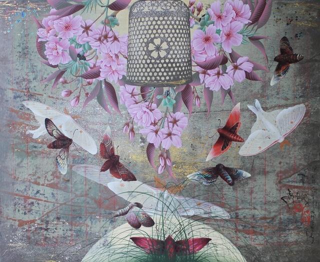 , 'Blue Butterflies,' 2013, Gallery Elena Shchukina
