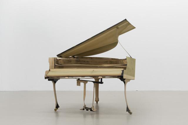 , 'skinny grand piano,' 2015, Thomas Rehbein Galerie